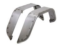 "Jeep TJ/LJ/YJ/CJ 6"" Flare Rear Tube Fenders - Steel"