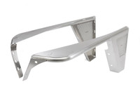 "YJ 0"" Flare Std. Front Fenders - Aluminum"