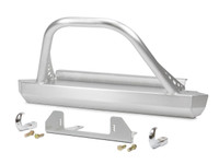 CJ Winch Guard Front Bumper - Aluminum