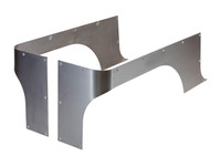 TJ/YJ/CJ-7 Comp Cut Corner Guards - Steel