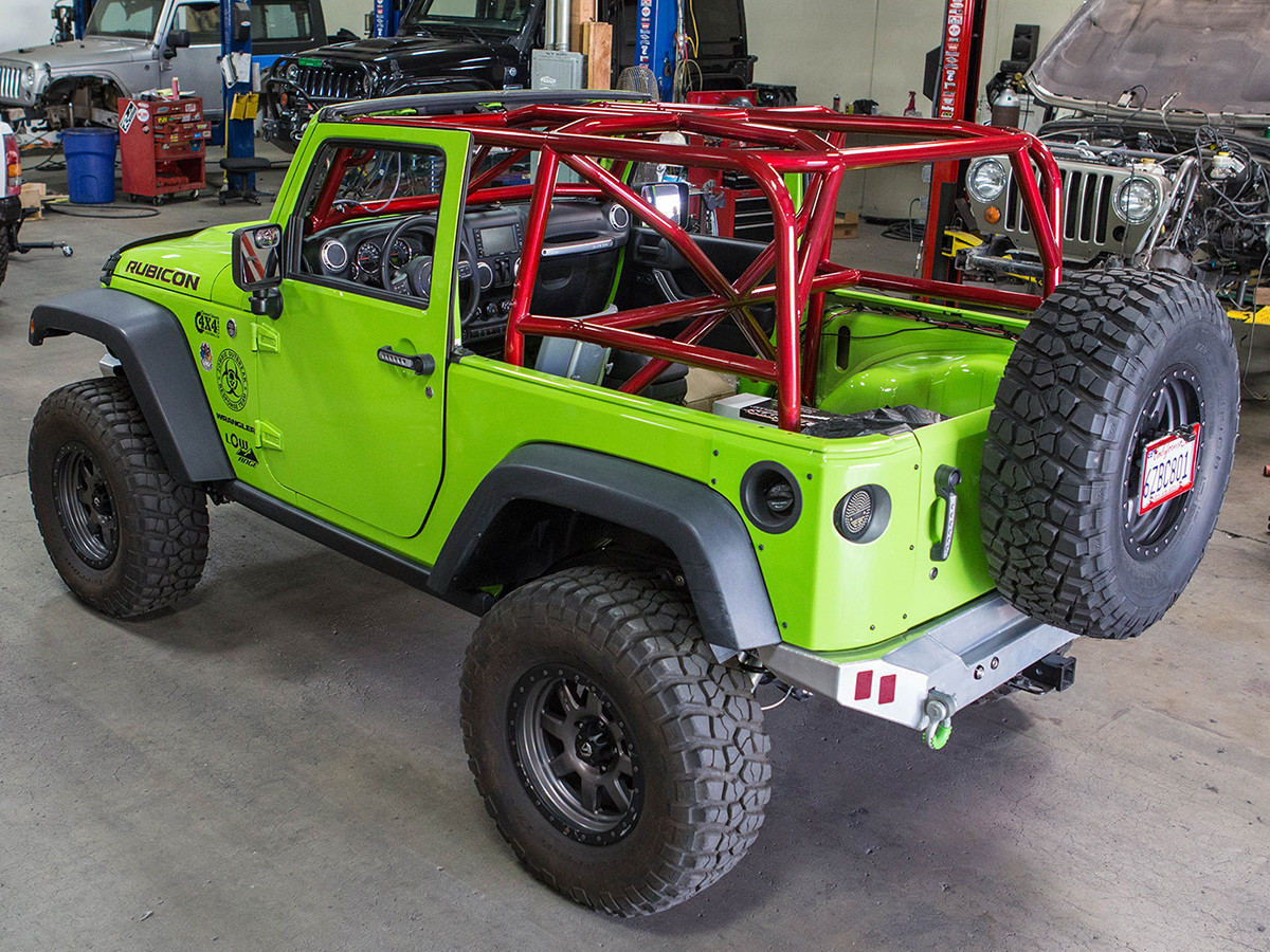 Jk 2 Door Full Roll Cage Kit Genright Jeep Parts