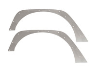 "JK 0"" Flare Rear Tube Fenders - Aluminum"