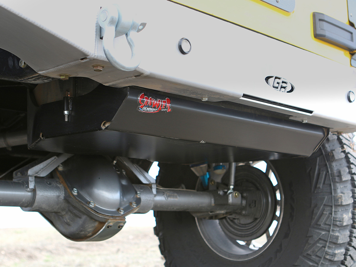 Jk 25 Gal Gas Tank Rear Tank Amp Steel Skid Plate