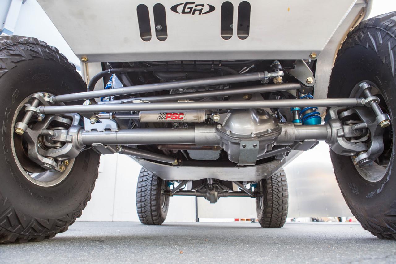 Front Axle/Tie Rod