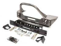 JK Winch Guard Front Bumper - Steel
