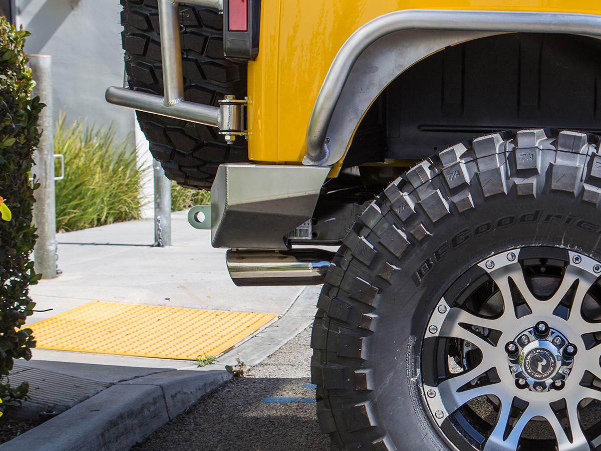 Jeep JK Rear Bumper - Aluminum
