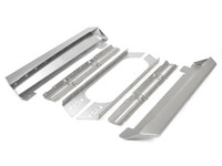 JK 2 Door Rocker Guards - Aluminum