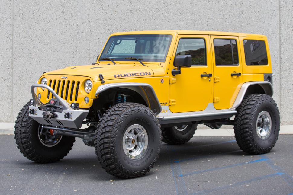 jeep jk 4 flare front tube fenders aluminum genright. Black Bedroom Furniture Sets. Home Design Ideas