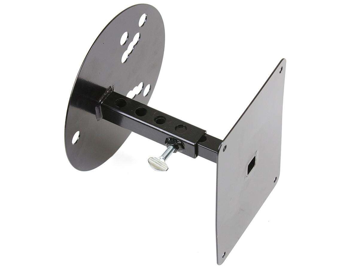 Telescoping mount is fully adjustable