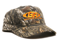 Mens Camo Hat w/ Orange GR Logo