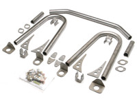 Universal Front Coilover Shock Hoop Kit - Old Style