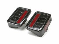 Spyder Auto JK LED Tail Lights in (Chrome/Black)