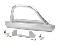 T/LJ Winch Guard Front Bumper - Aluminum
