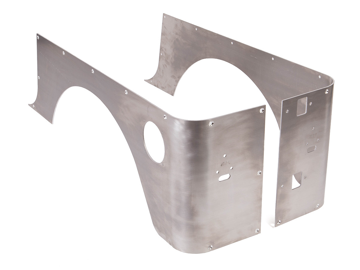 Aluminium Corner Guards : Tj corner guard set full std alum genright jeep parts