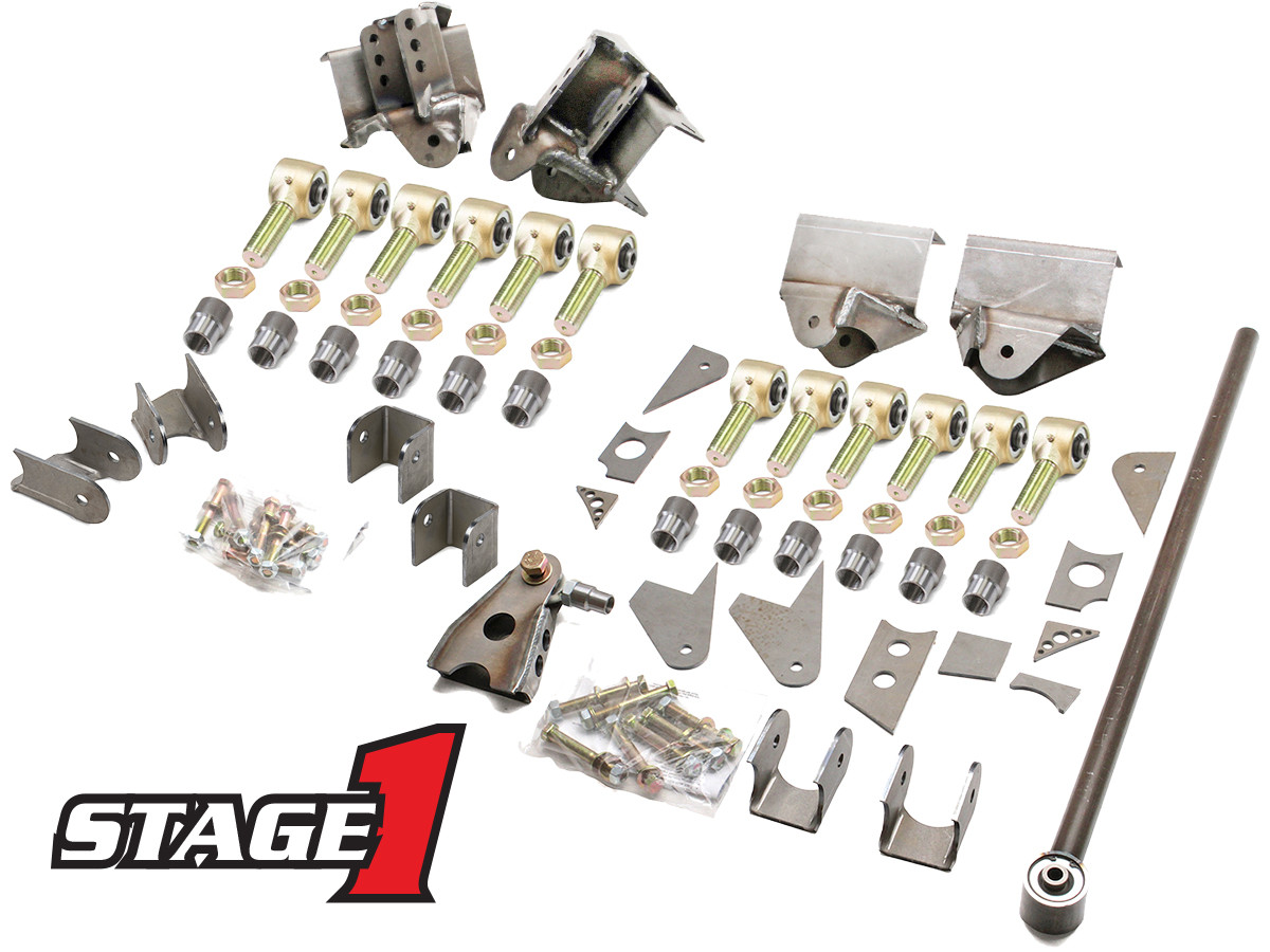 GenRight's Stage 1 Suspension Package for the Jeep TJ & LJ
