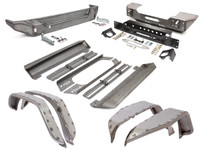 JK (2 Door) Trail Armor Package - Steel