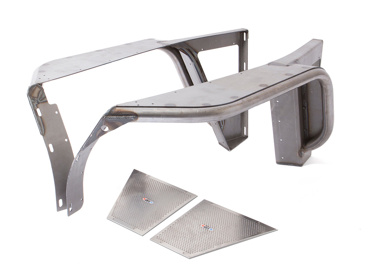 """CJ 4"""" Flare Front Tube Fenders - Steel 
