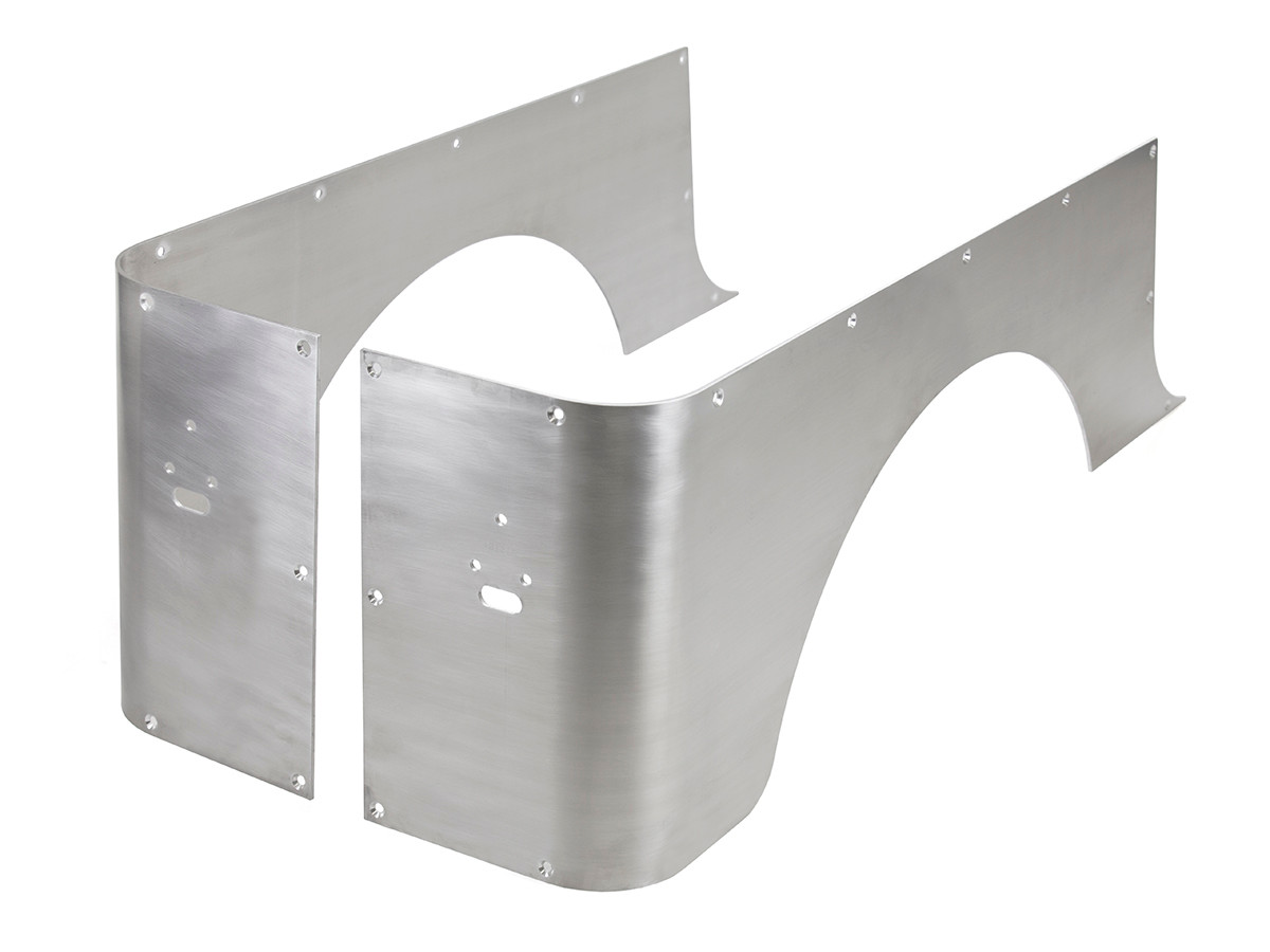 Aluminium Corner Guards : Yj full corner guards standard aluminum genright