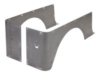 YJ Full Corner Guards (Stretch) - Steel