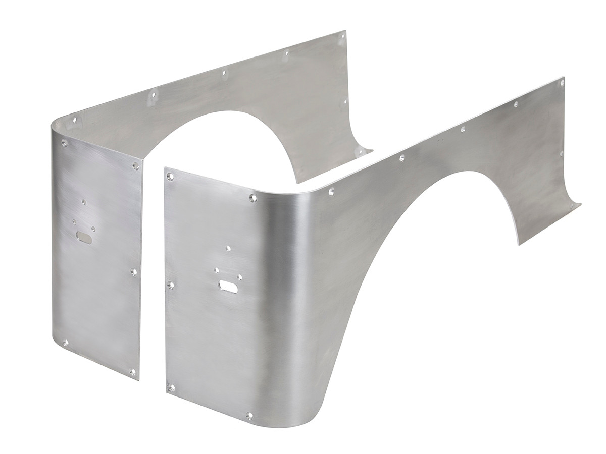 Aluminium Corner Guards : Yj full corner guards stretch aluminum genright jeep