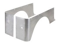 YJ Full Corner Guards (Stretch) - Aluminum