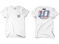 GenRight 10 Year Anniversary SS Shirt - White