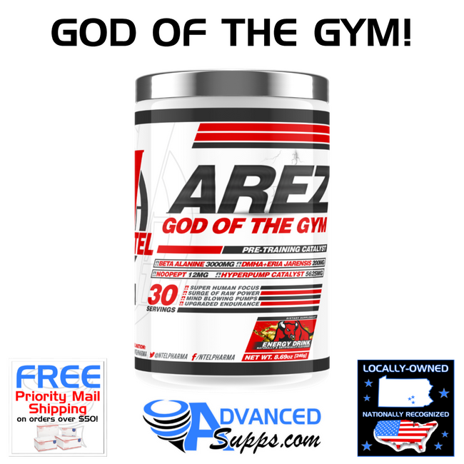 AREZ GOD OF THE GYM: Pre-Training Catalyst