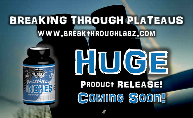 COMING SOON! The new Breakthrough INCHES fat loss incinerator by Breakthrough Labz