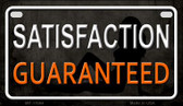 Satisfaction Guaranteed Wholesale Metal Novelty Motorcycle License Plate MP-11664