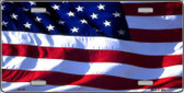 American Flag Wholesale Metal Novelty License Plate LP-141