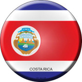 Costa Rica Country Wholesale Novelty Metal Circular Sign