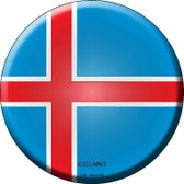 Iceland Country Wholesale Novelty Metal Circular Sign