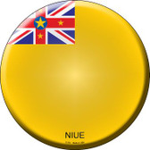 Niue Country Wholesale Novelty Metal Circular Sign