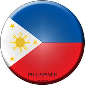 Philippines Country Wholesale Novelty Metal Circular Sign
