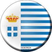 Seborga Country Wholesale Novelty Metal Circular Sign
