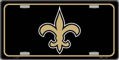 Fleur de lis Wholesale Metal Novelty License Plate