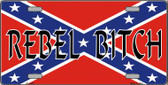 Rebel Bitch Wholesale Metal Novelty License Plate LP-1446