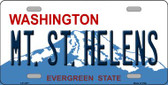 Mt St Helens Washington Novelty Wholesale Metal License Plate LP-1477