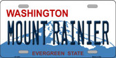 Mount Rainier Washington Novelty Wholesale Metal License Plate LP-1478