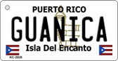 Guanica Puerto Rico Flag Wholesale Novelty Key Chain