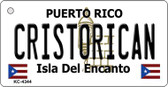 Cristorican Puerto Rico Flag Wholesale Novelty Key Chain