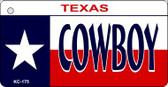 Cowboy Texas Wholesale Novelty Key Chain