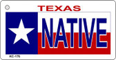 Native Texas Wholesale Novelty Key Chain
