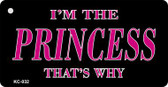 Princess Thats Why Wholesale Novelty Key Chain