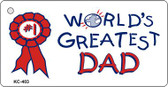 Greatest Dad Wholesale Novelty Key Chain
