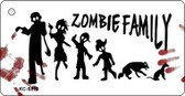 Zombie Family White Wholesale Novelty Key Chain