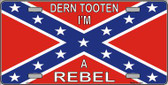 I'm A Rebel Wholesale Metal Novelty License Plate