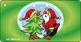 Santa & Tree Wholesale Novelty Key Chain