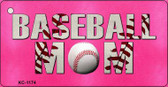 Baseball Mom Wholesale Novelty Key Chain