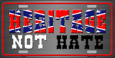 Heritage Not Hate Novelty Wholesale Metal License Plate